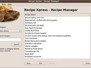 Recipe Xpress - Main screen
