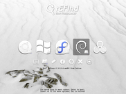rEFInd supports themes to alter its appearance