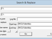 Search & Replace dialog