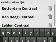 Manage stationlist