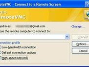 Make a RemoteVNC connection