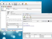 Secure Messages (E-mail) with File Recommendations