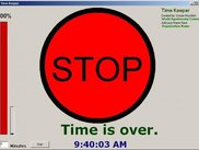 Time Keeper is stoped.