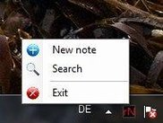 rNotes will idle in your tray until you need it.