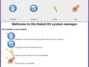 The Robot OS GUI main window