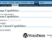 The Capability-Management-Page (new as sep. page with 2.1.0)
