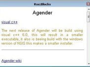 Rss::Blocks main window