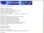 RSScache with default configuration