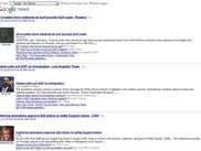 This is the rss reader interface, and page for Google News
