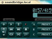 Sound Bridge Commander running on Ubuntu