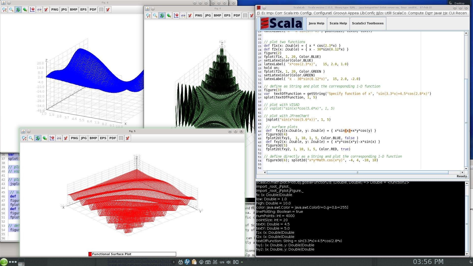 ScalaLabLight screenshot