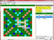 Classic Scrabble with 2 players connected by game server