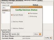 Configuring SELinux