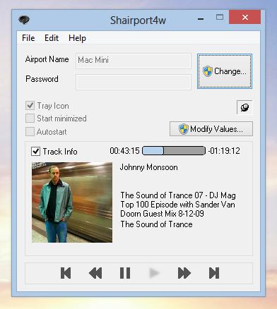 Full Shairport4w screenshot