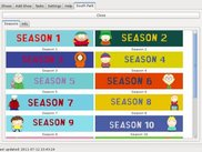2 Season list for a show