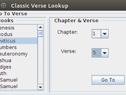 Quick Book : Verse Lookup
