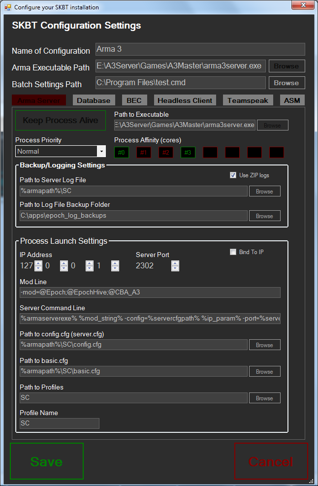how to add a server in arma remote server