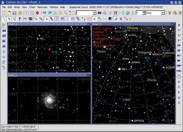 Sky Chart / Cartes du Ciel download | SourceForge.net