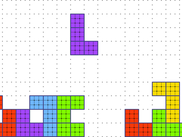 Randomly generated sparse block matrix.