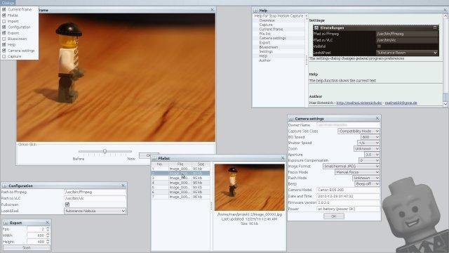 Stop Motion Software Linux
