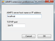 AIMP Snarl extension preferences