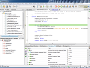 A screenshot of Sodbeans running the Quorum programming language.