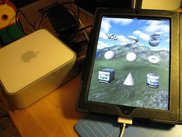 SoftPixel Engine 3.1 running on iPad 2