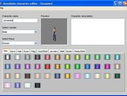 Sonnheim character editor.