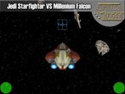 Jedi StarFighter VS Millenium Falcon