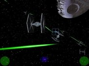 A Tie-Fighter battle