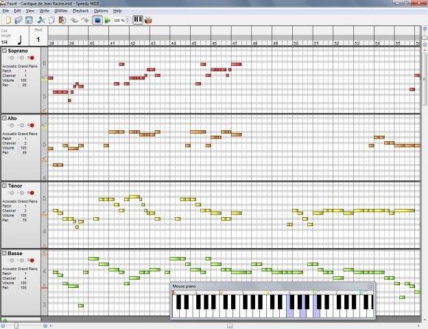 Full Speedy MIDI screenshot