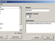 Word List Edit Dialog (Windows XP)
