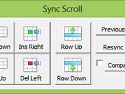 Sync Scroll control window