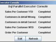 Sql Parallel Executer's Front End - Scripts Completed