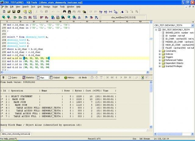 how to use explain plan in oracle