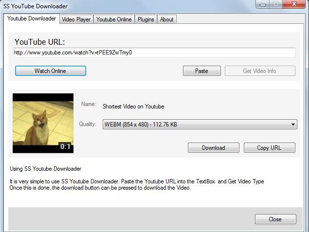 SS Youtube Downloader
