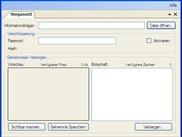 The Main GUI of Stegano.Net