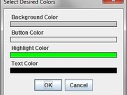 Color Options Menu