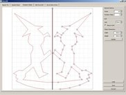 (2) GUI to design rotationally symmetric objects