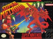 Super Metroid Cassette Box