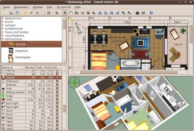 Sweet home 3d download 3d planner