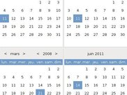 Calendar's renderer can be modified