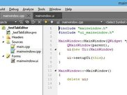 QtCreator tabs in edit mode