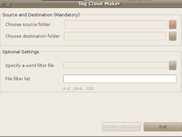 Tag Cloud Maker on Ubuntu