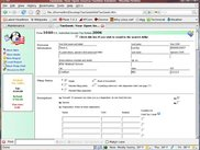 Form 1040 Interface