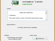 About window (TCP/IP Manager v4.0.0.22)