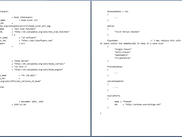 This is the C syntax format text file that is current read in and processed.