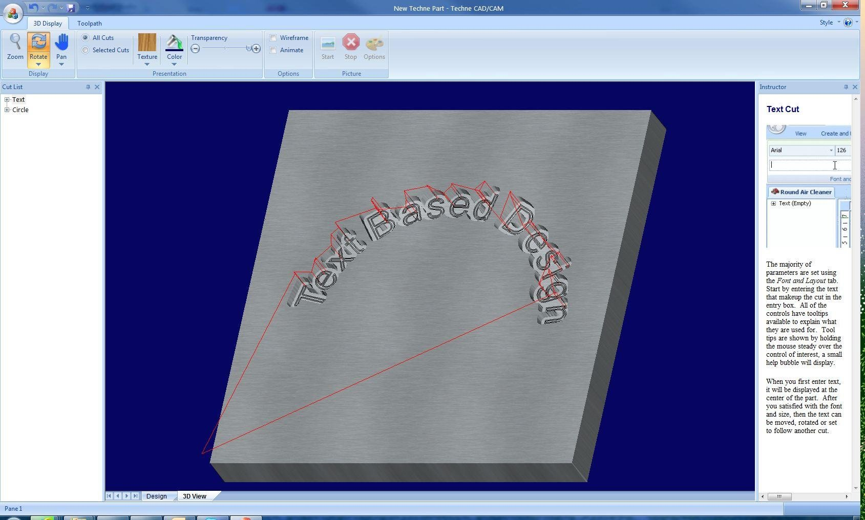 Techne CAD/CAM x64 full screenshot