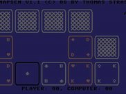 Screenshoot of C64-TextSchnapsen