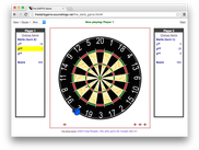 The Darts Game Board